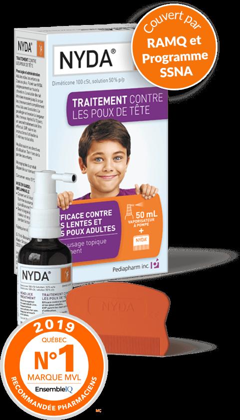 Nyda traitement contre les poux - Traitement contre les cochenilles ...