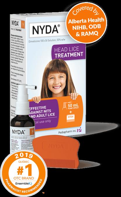 nyda ® | head lice treatment, Skeleton